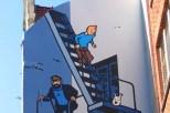 Mur Bande Dessinée Tintin