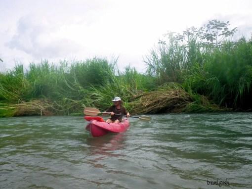 kayak in Costa Rica