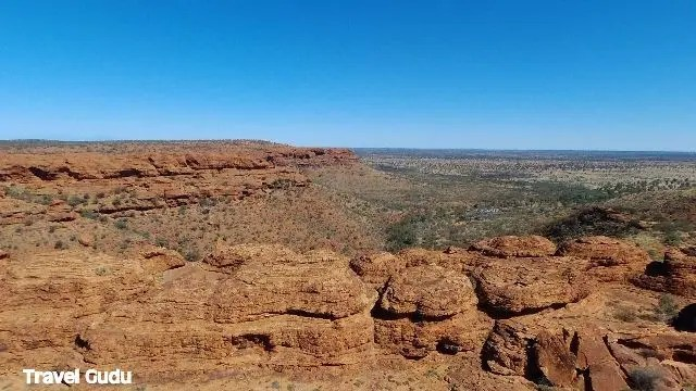 Nel Red Center: il Kings Canyon
