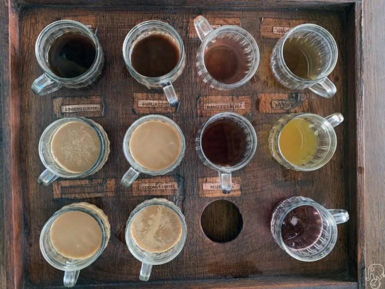 Assaggio di caffè a Bali