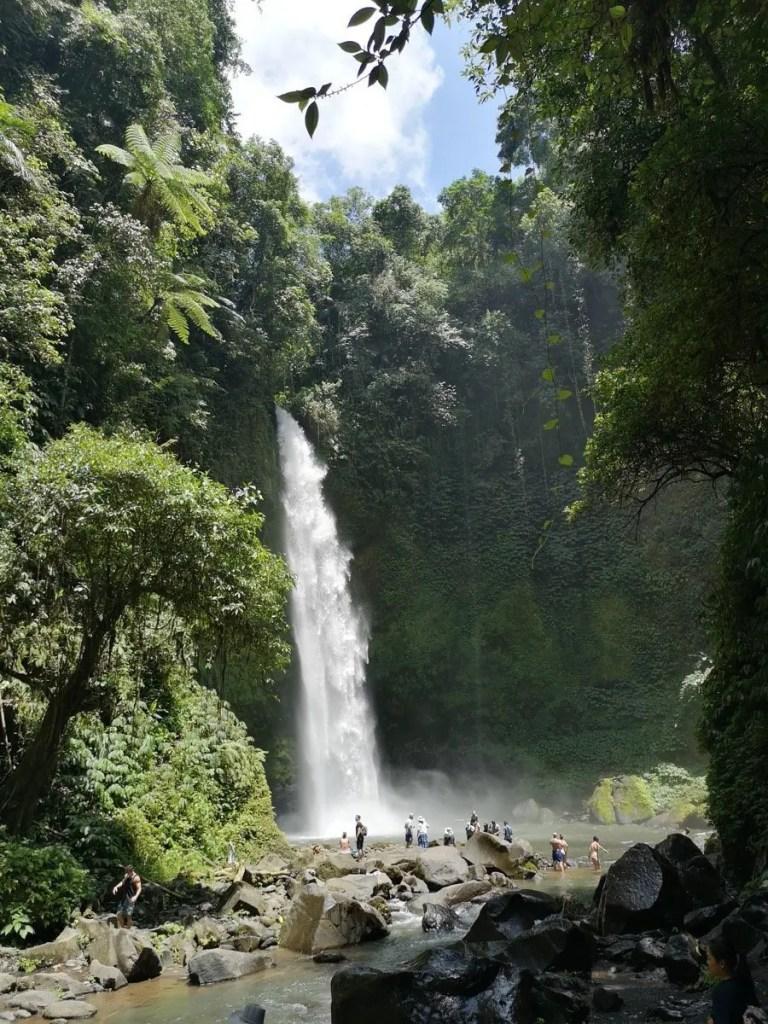 Guida alle cascate di Bali