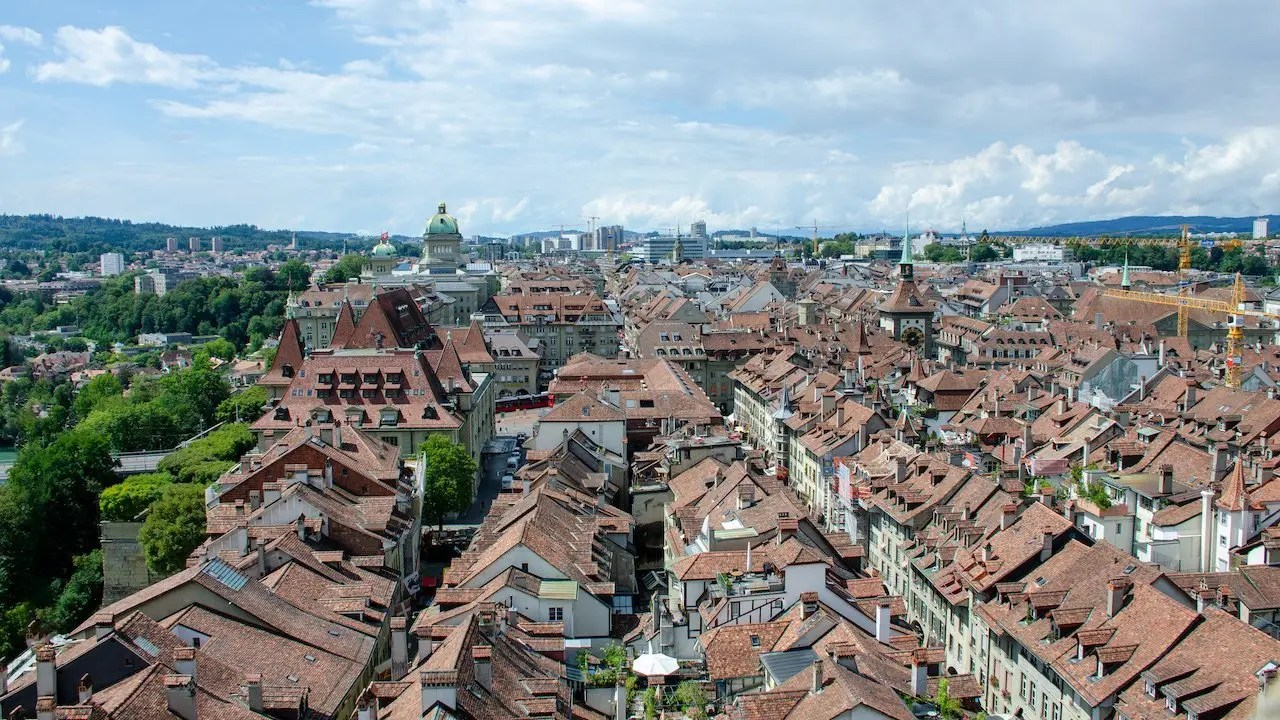 Berna panorama da cattedrale
