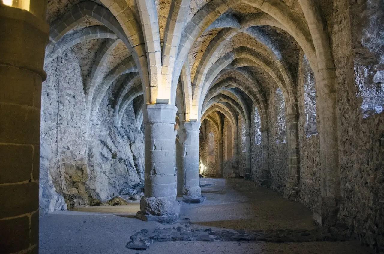 sotterranei castello di Chillon