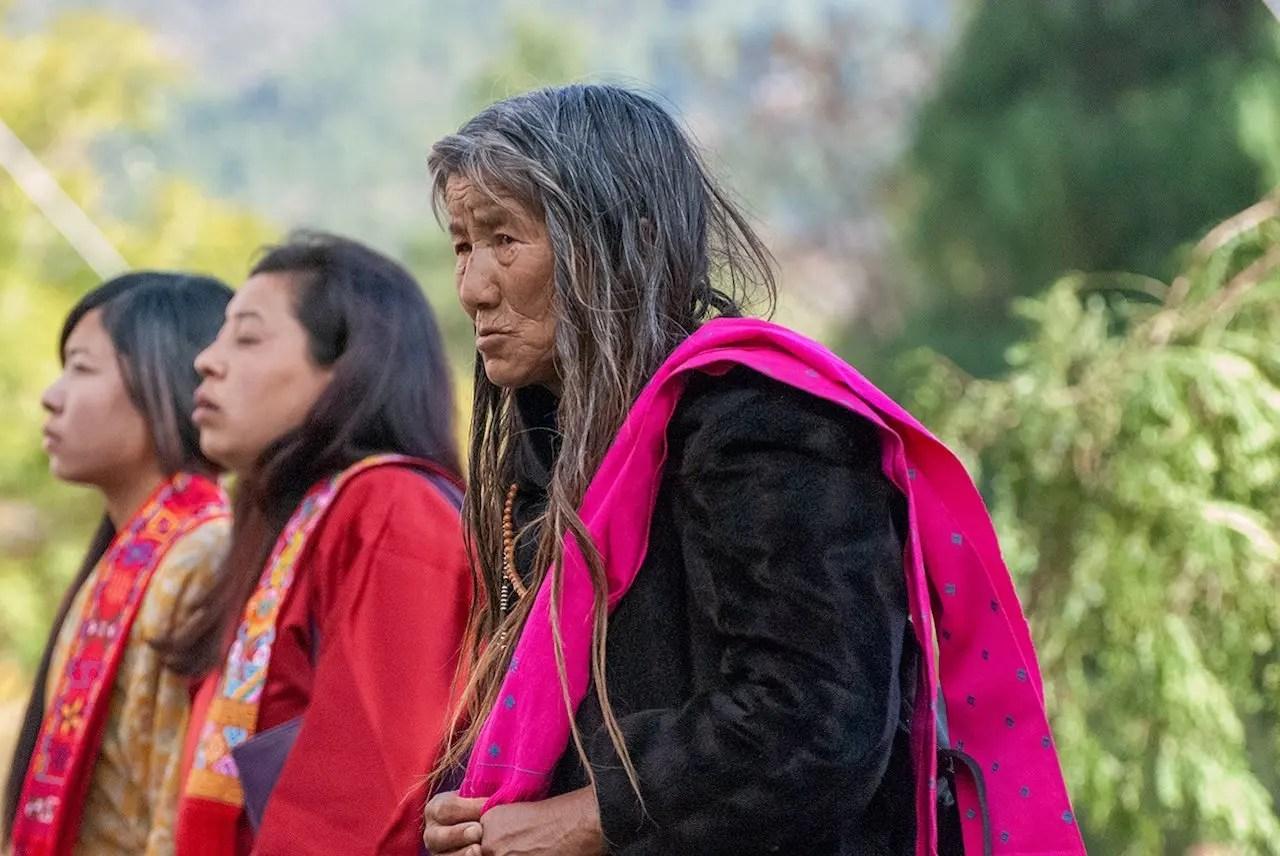 persone bhutan