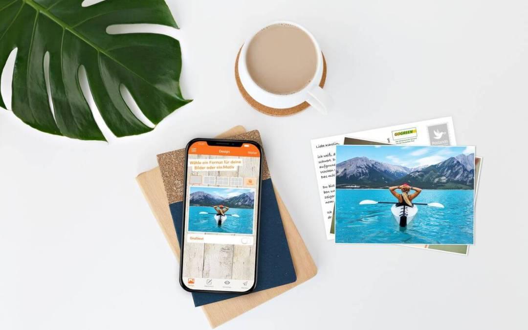 Postando – Postkarten per Smartphone versenden
