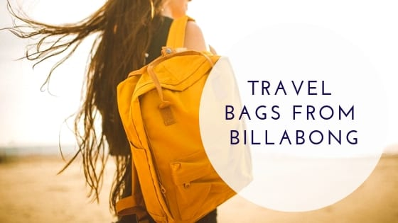 Travel Bags From Billabong