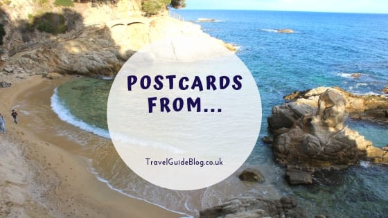 Postcards from Travel Linky title post