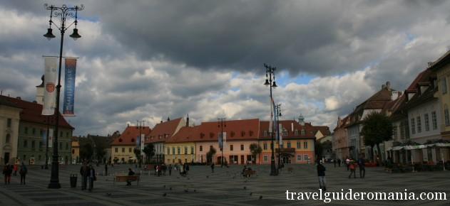 tourism in Romania - Sibiu town