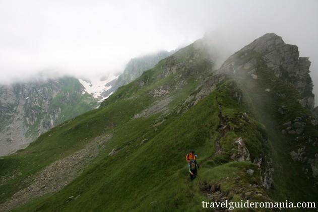 travelling in Romania - Fagaras mountains