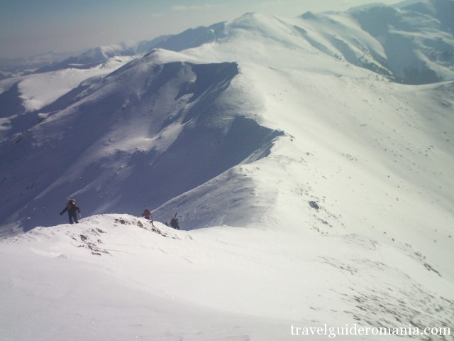 Rodnei Mountains in winter time