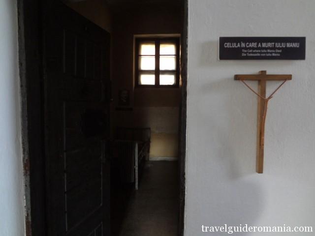 The prison cell where Iuliu Maniu died
