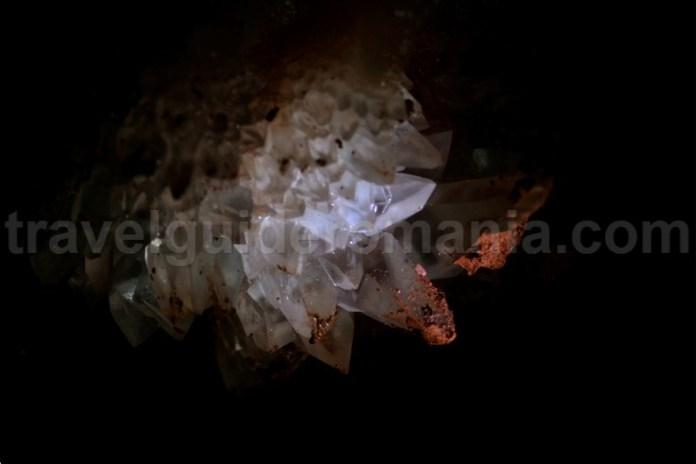crystals in Farcu mine - Rosia village