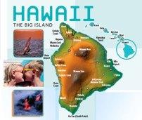 Map Big Island Hawaii