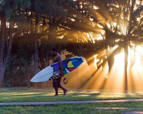 Oahu Hawaii Surfing