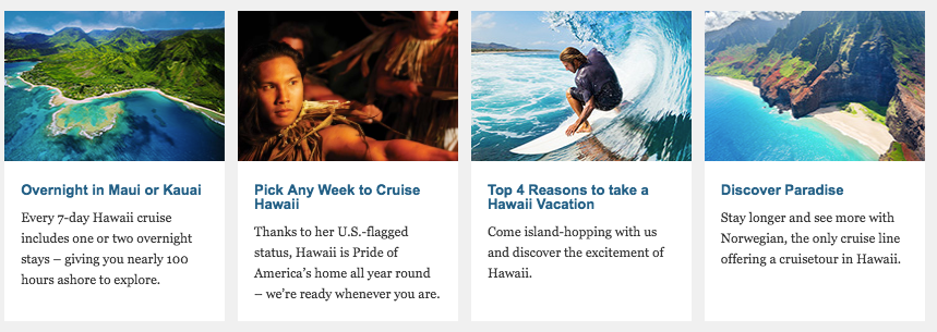 More Information About 7 Day Hawaii Cruise