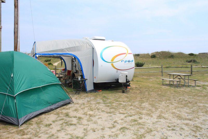 r-pod camper in OBX