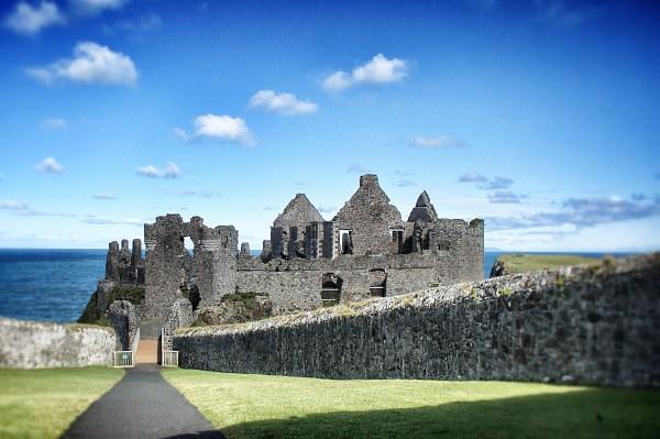 Dunluce Castle on the Antrim Coast