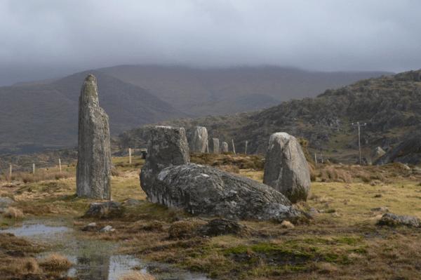 Cashelkeelty Stone Circle - Beara Peninsula