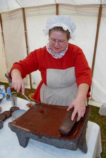 Chocolate Making Demo - Christmas at Mount Vernon