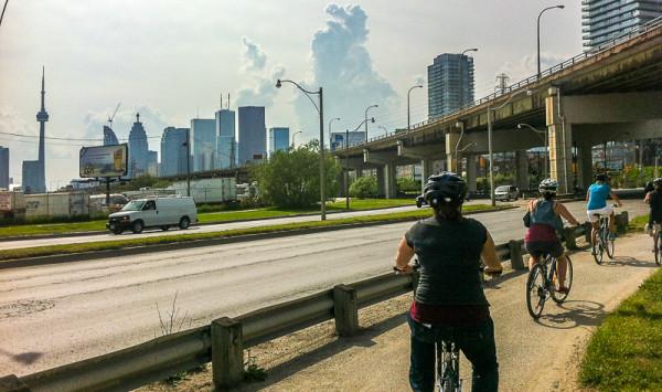 Toronto - TBEX bike ride