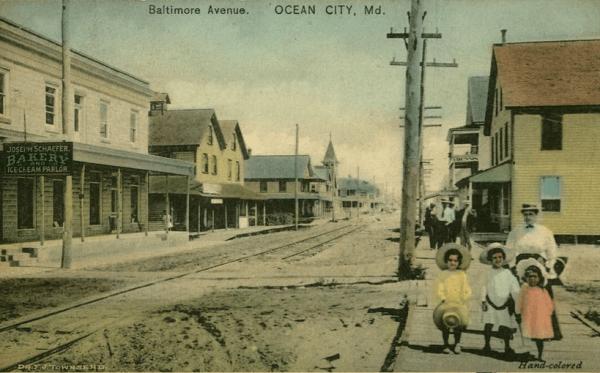 Baltimore Avenue - Ocean City Maryland