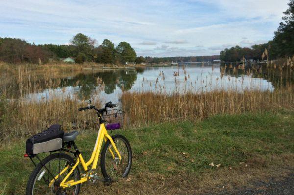 Trek Shift bike - San Domingo Creek