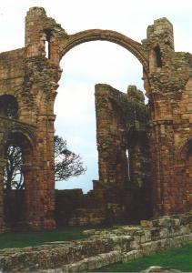 Lindisfarne Abbey - Rainbow Arch
