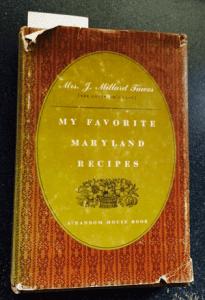 My Favorite Maryland Recipes - Avalynne Tawes