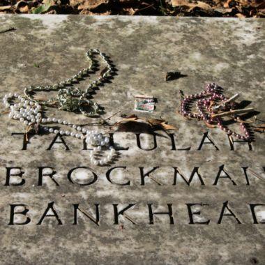Tallulah Bankhead's grave