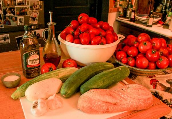 gazpacho ingredients
