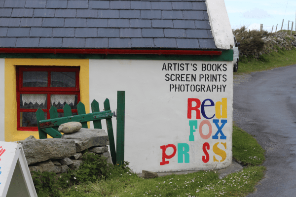Redfox Press Studio in Dugort - Achill Island