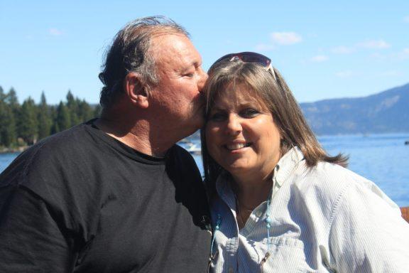 Dan and Mindie Burgoyne on Train Vacation