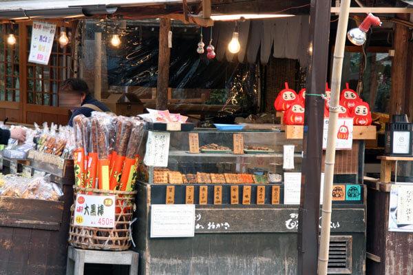深大寺の和菓子
