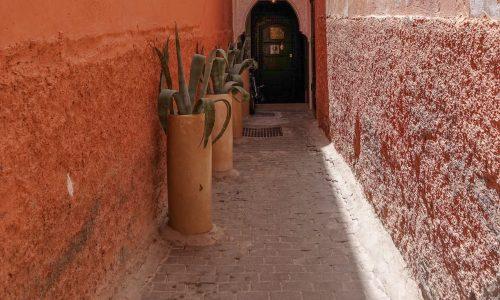 Moroccan architecture, Marrakech, Morocco