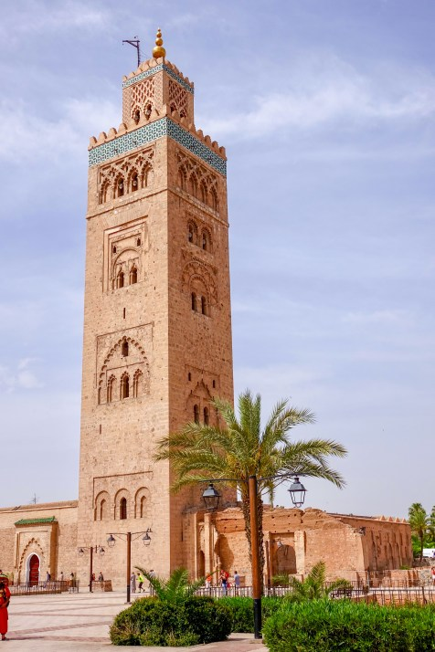 Koutoubia Mosque: the largest mosque in Marrakech.