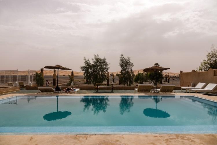 Sahara relaxation