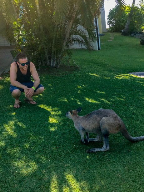 "When I first met D, I thought to myself, ""I wallaby with a girl like her."""