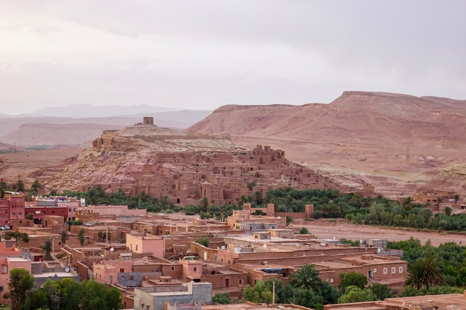 Ait Ben Haddou, Morocco, Ksar, UNESCO, fortress, ancient cities, sunrise, sunset