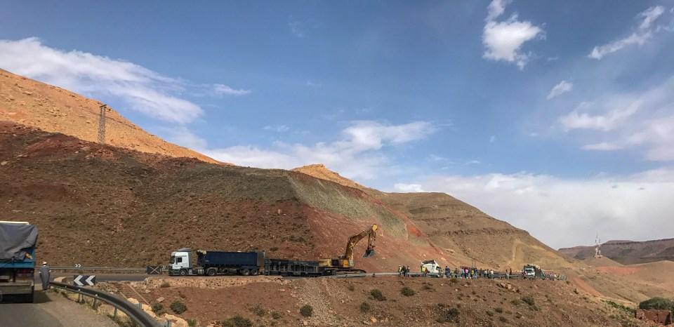 High Atlas Mountains, Morocco, Marrakech, Toufliht, Ait Ben Haddou, Good Samaritans