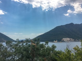 """Gospa od Škrpjela (""""Our Lady of the Rocks""""), Perast. The only man-made island in the Adriatic."""