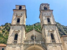 The Cathedral of Saint Tryphon. Kotor, Montenegro.