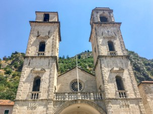 TheCathedral of Saint Tryphon. Kotor, Montenegro.