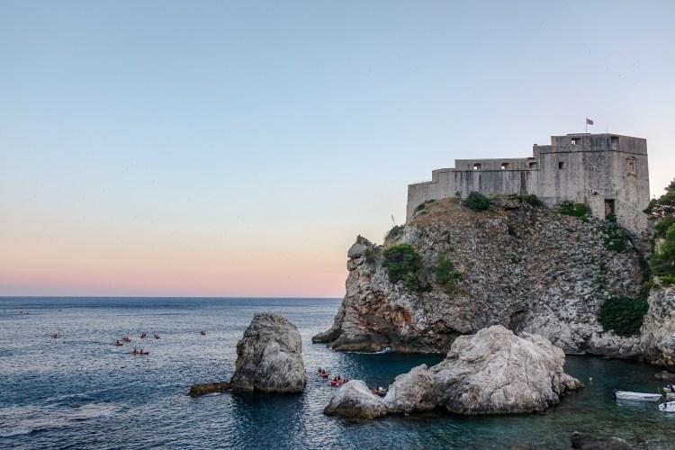Dubrovnik, Croatia at Sunset