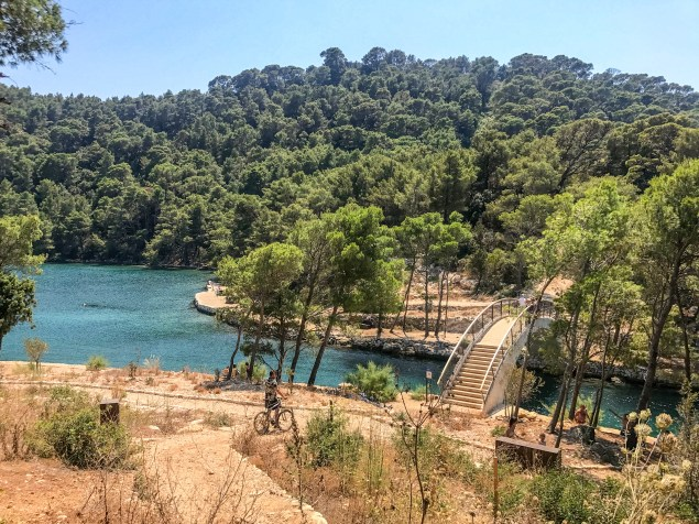 Bridge over the Big Lake, Mljet.