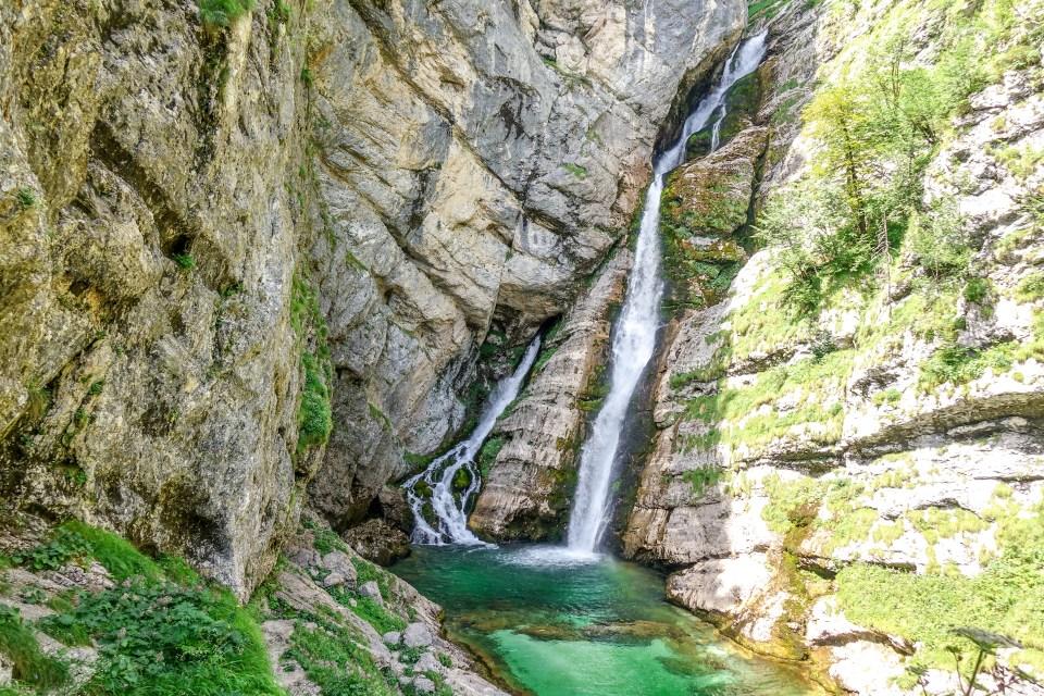 Slap Savica Triglav National Park Slovenia