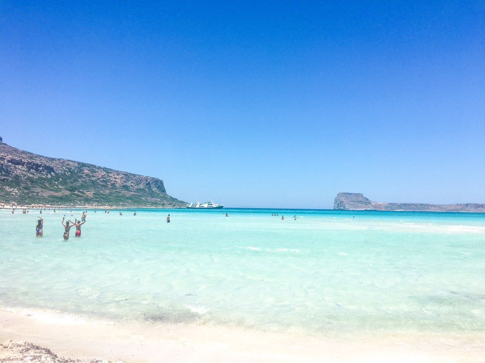 Balos Beach, Crete, Greece, Balos Lagoon, Cape Tigani, Imeri Gramvousa, Chania, Kaliviani, Kissamos, Balos day trip, ferry, Balos ferry, hiking, hike to Balos Beach