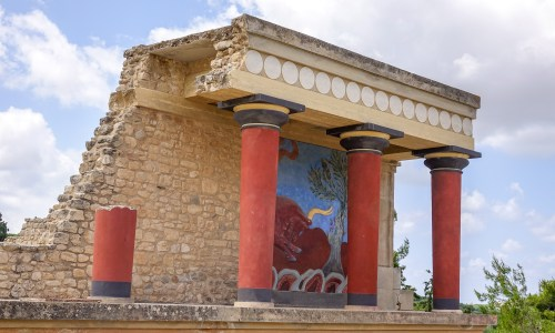 Knossos Crete Greece