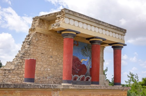 Knossos Crete Greece