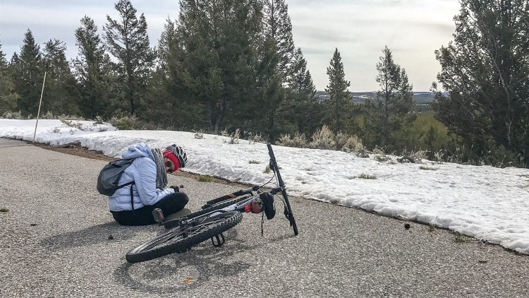 Yellowstone National Park Bike Break
