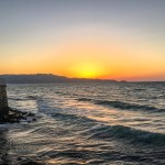 Crete Greece - Heraklion Sunset